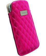 Krusell pouzdro Avenyn L - iPhone 4S/4, Nokia N8/C6/C7, HTC Desire/HD/Wildfire 62x116x12mm(růžová)