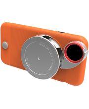 Ztylus Revolver Lite sada objektivů pro iPhone 6S/6, oranžový