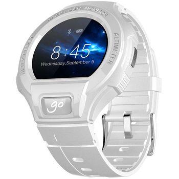 Alcatel GO WATCH SM03, bílá/světle šedá