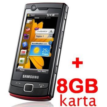 Samsung B7300 Omnia Lite + 8GB karta
