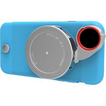 Ztylus Revolver Lite sada objektivů pro iPhone 6S/6, modrý