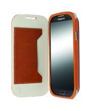 Krusell pouzdro FlipCover Kiruna - Samsung Galaxy S4 (hnědá)
