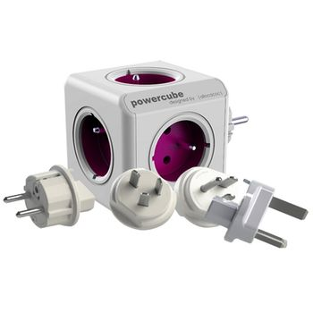 PowerCube Rewirable + síťové adaptéry