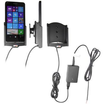 Brodit držák do auta na Microsoft Lumia 640 bez pouzdra, se skrytým nabíjením