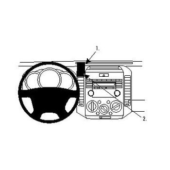 Brodit ProClip montážní konzole pro Ford Ranger 07-08 For Europe, Mazda BT 50 07-08