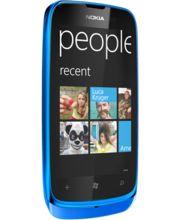 Nokia Lumia 610 Cyan + záložní zdroj Nokia DC-16 ZDARMA