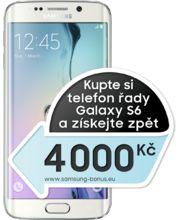 Samsung Galaxy S6 edge G925F 32GB White Pearl - akce 4 000 Kč zpět!