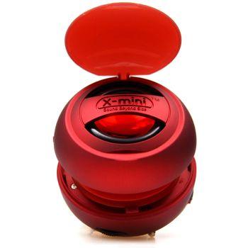X-mini V1.1 přenosný reproduktor, červený