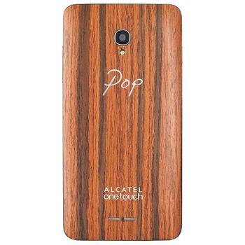 ALCATEL ONETOUCH 5022D POP STAR Wood Case, růžová