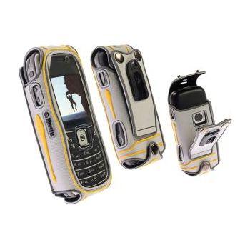 Krusell pouzdro Active - Nokia 5500 Sport - šedá/žlutá