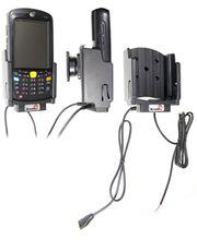 Brodit držák do auta na Motorola (Symbol) MC55/MC65/MC67 s USB OTG kabelem, se skrytým nabíjením