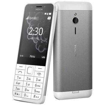 Nokia 230 DS bílá, rozbaleno