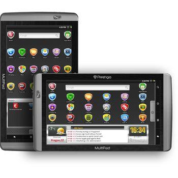 """Prestigio Multipad PMP7100C, Android, 10.1"""" display 1024x600, Wi-Fi, 8GB, stříbrná/šedá"""