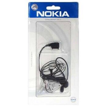 Headset Nokia HS-105 - Nokia 2680 slide/ 5000/ 7100, WH-101, černá
