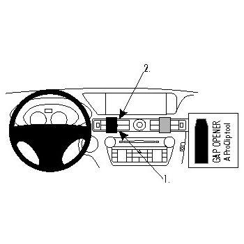 Brodit ProClip montážní konzole pro Lexus GS Series 13-16, na střed