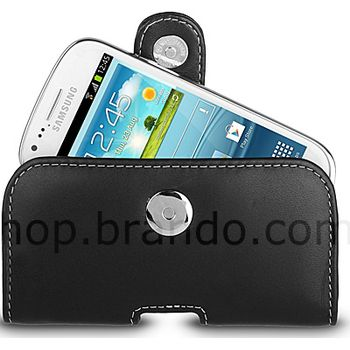 Pouzdro kožené Brando Pouch - Samsung Galaxy S III Mini