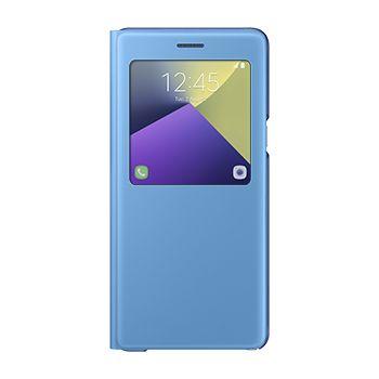 Samsung flipové pouzdro s funkcí stojánku EF-CN930PL pro Note 7, modré
