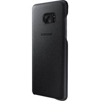 Samsung kožený zadní kryt EF-VN930LB pro Note 7, černý