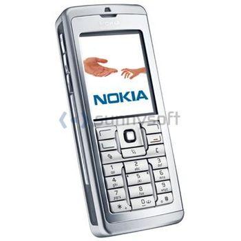 Nokia E60 - stříbrná