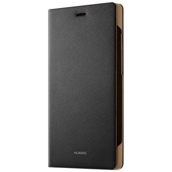 Huawei flipové pouzdro Folio pro P8 lite, černé