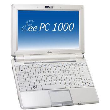 "Asus Eee PC 1000 - 10"" WSVGA/intATOM/1GB/160GB/WiFin/BT/Cam/XPHCZ (bílá)"