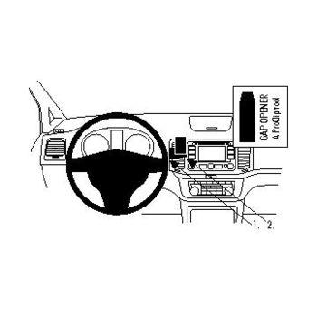 Brodit ProClip montážní konzole pro Volkswagen Sharan 11-/ Seat Alhambra 11- rozbaleno, na střed