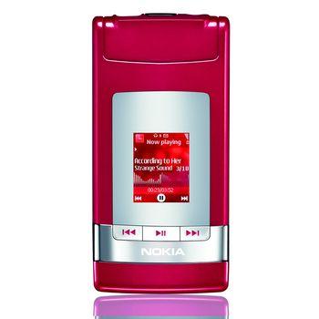 Nokia N76 červená