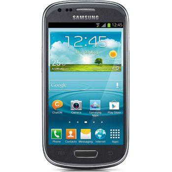 Samsung Galaxy S III mini, NFC, šedý + zadní kryt Samsung ZDARMA, světle modrý