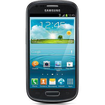 Samsung Galaxy S III mini, NFC, černý + zadní kryt Samsung ZDARMA, světle modrý