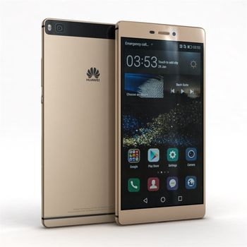 Huawei P8 Premium DualSIM, zlatý