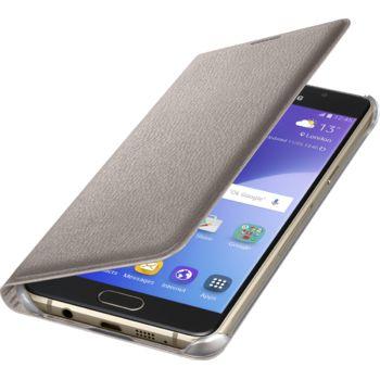 Samsung flipové pouzdro pro Galaxy A5 (A510), zlaté