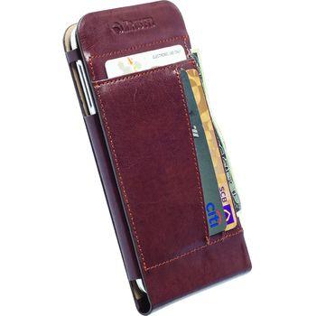 Krusell pouzdro WalletCase Kalmar - Samsung Galaxy S5, hnědá
