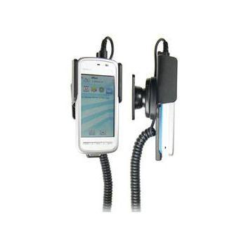 Brodit držák do auta na Nokia 5230 bez pouzdra, s nabíjením z cig. zapalovače