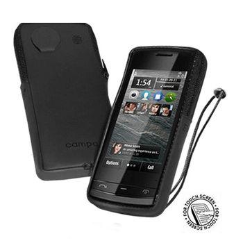 Pouzdro se slídou Campa Satin - Nokia 2323 (černá)