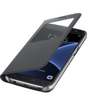 Samsung flipové pouzdro S View EF-CG930PB pro Galaxy S7, černé