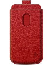 Belkin Pocket Case zasouvací pouzdro pro Samsung Galaxy S III PU kůže, červené (F8M410cwC02)