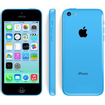 Apple iPhone 5C 16GB, modrá