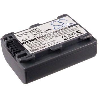 Baterie pro Sony DCR-HC16e, (ekv.NP-FP50), 750mAh, Li-ion
