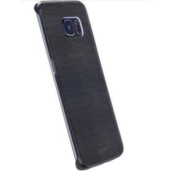 Krusell zadní kryt BODEN pro Samsung Galaxy S7 edge, černé transparentní