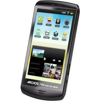 "Archos 43 IT, tablet Android, 4.3"" display 480x854, Wi-Fi, 16GB, černý"