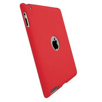 Krusell pouzdro Backcover iPad 2 - červená