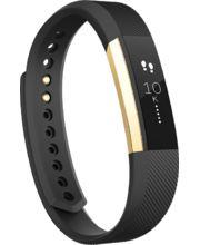Fitbit Alta Gold velikost S, zlatá/černá