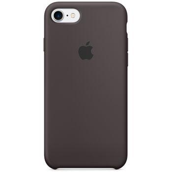 Apple silikonový kryt pro iPhone 7, kakaově hnědý