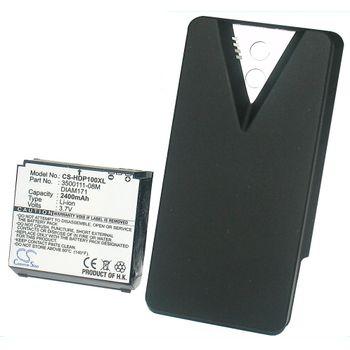 Baterie (ekv. BA-S400) pro HTC Touch Pro, rozšířená včetně krytu, Li-ion 3,7V 2400mAh
