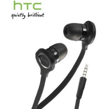 HTC Headset Stereo RC-E190, plochý kabel, černý