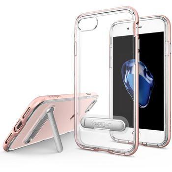 Spigen ochranný kryt Crystal Hybrid pro iPhone 7, růžová