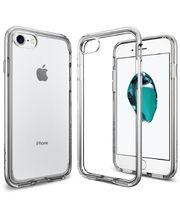 Spigen ochranný kryt Neo Hybrid Crystal pro iPhone 7, stříbrná