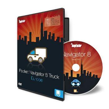 MapFactor Pocket Navigator 8 Truck - Evropa