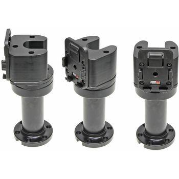 Brodit set otočného montážního podstavce a MultiMove clipu, výška 165 mm, sklon 90°, černý