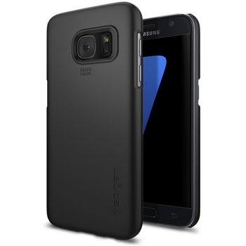 Spigen pouzdro Thin Fit pro Galaxy S7, černé